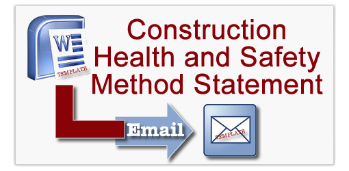 Construction Health And Safety Method Statement Template  Health And Safety Method Statement Template